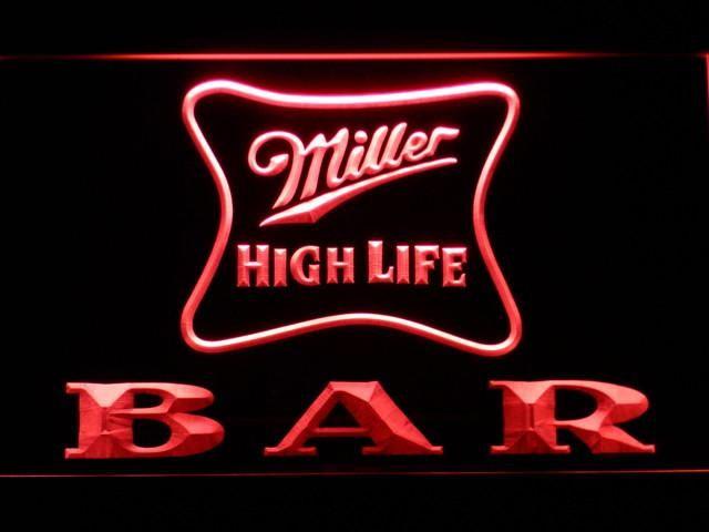 908070192b627 Miller High Life Bar LED Neon Sign