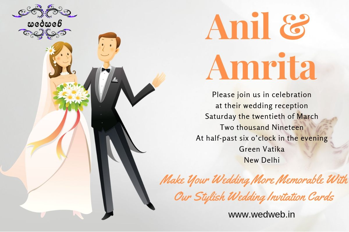 Online Weddinginvitation Cards Are Perfect For Your Big Day