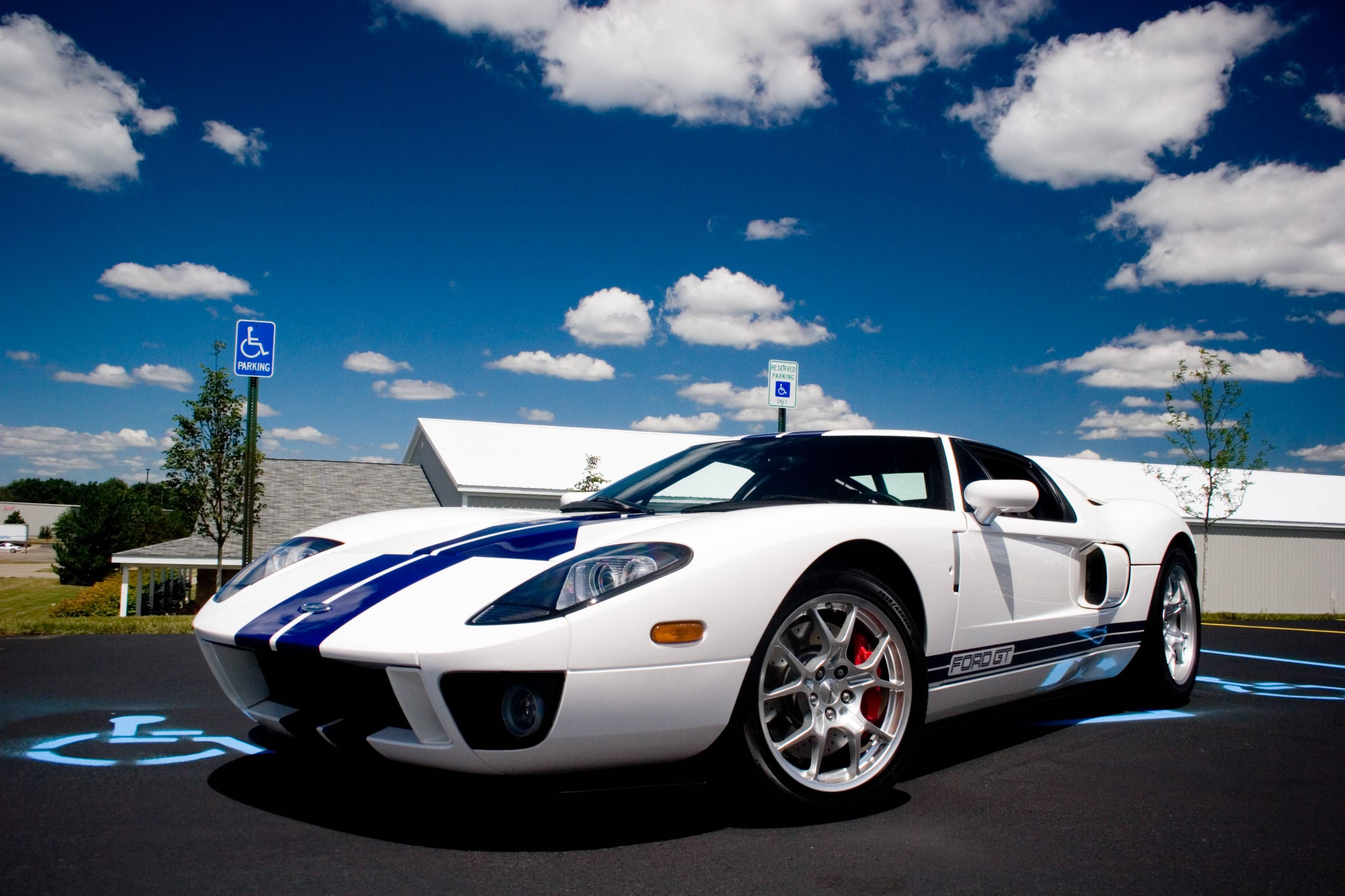 Ford GT White 2014 Wallpaper Walls 1870 Wallpaper