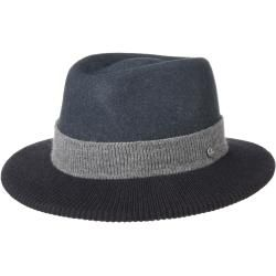 Photo of Lierys Tarell Traveler Wool Hat with Knit Wool Felt Hat Felt Hat Men's Hat Traveler Hat Lierys