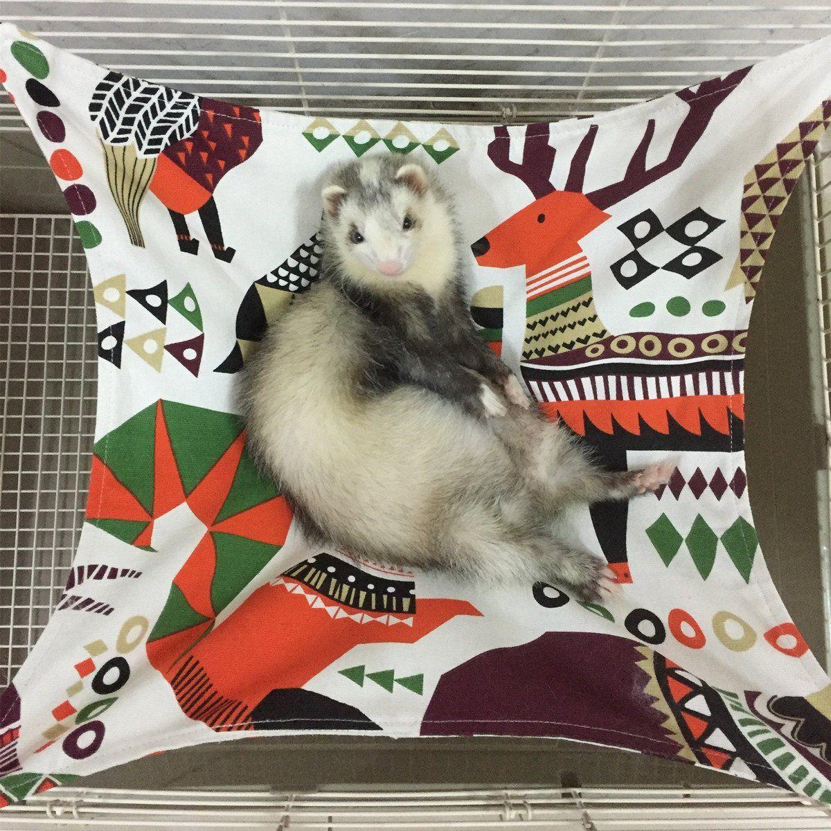 Ferret Hammocks Bed For Cage Hammock For Small Pet Kitten Ferret