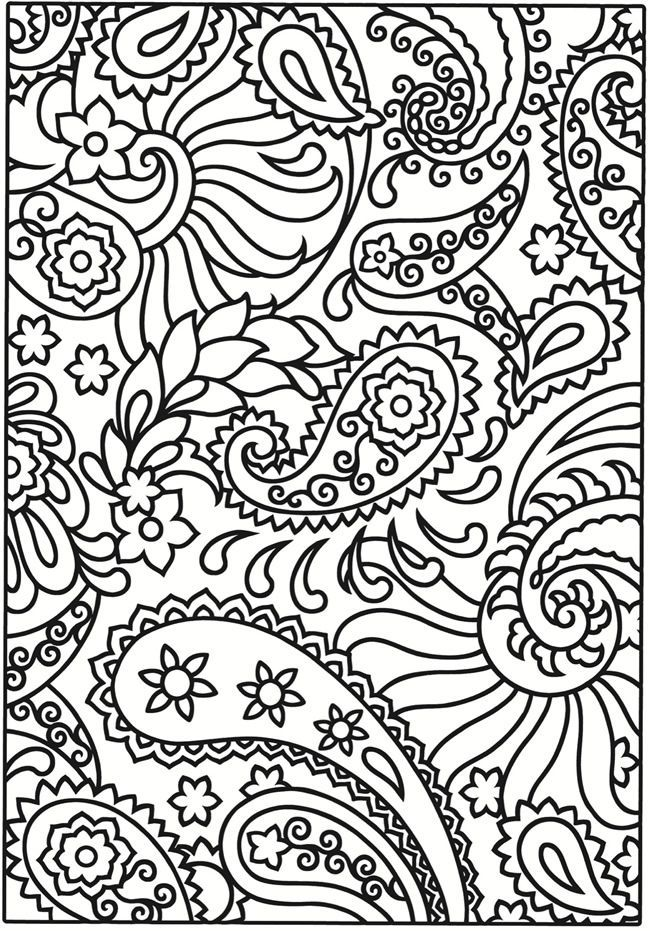 creative haven paisley designs stained glass coloring book - Paisley Designs Coloring Book