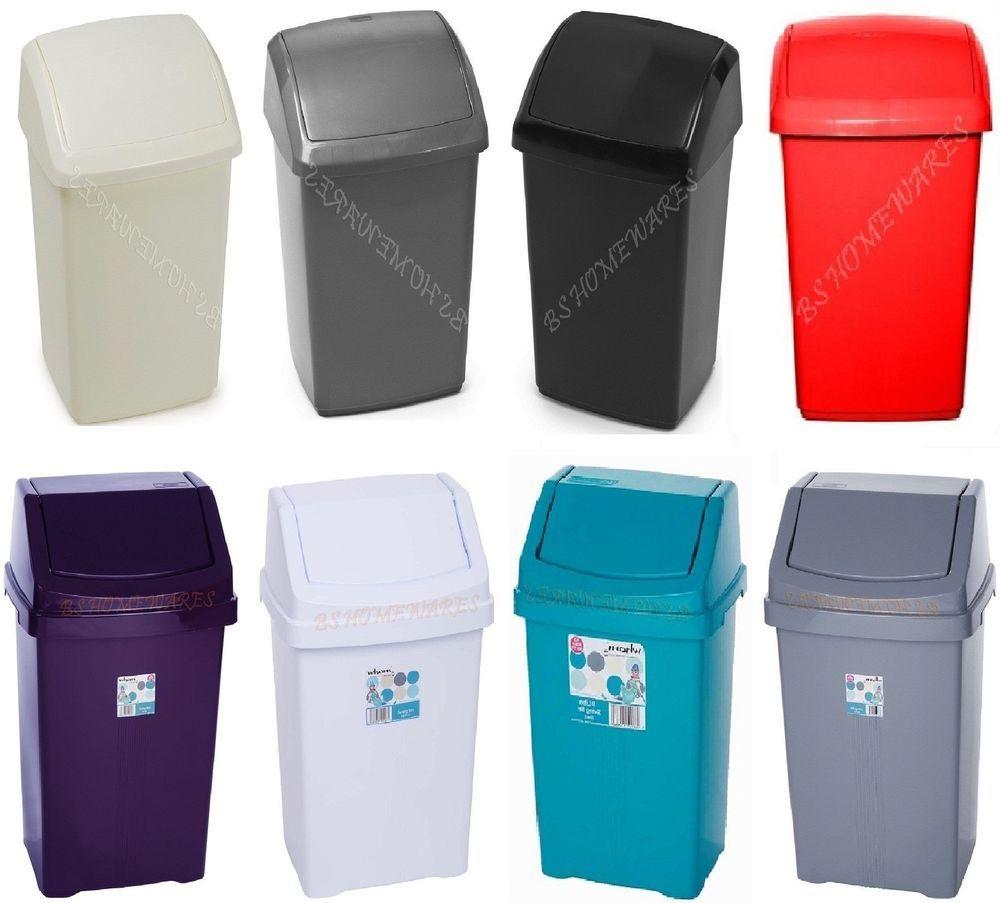 Garden Trading Kitchen Bin Plastic 25 Dustbin Garden Waste Rubbish Recycle Bin Kitchen