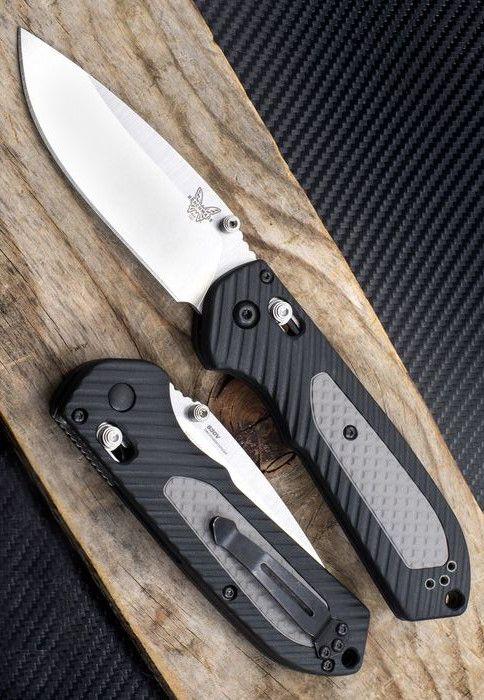 Benchmade - Freek 560, Drop-Point EDC Folder Pocket Knife Blade