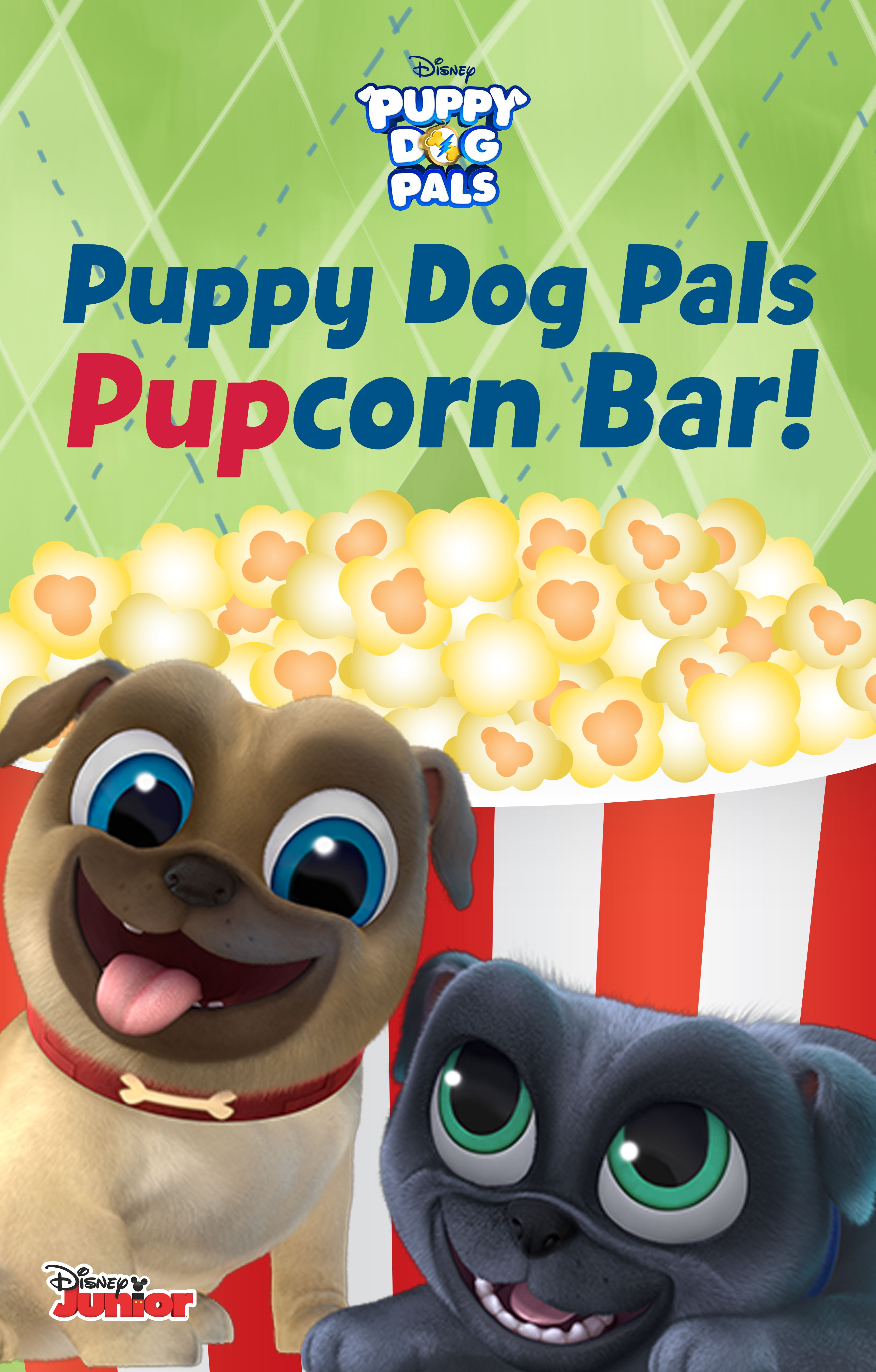 Create Your Own Popcorn Bar For Your Puppy Party Puppy Party Puppy Birthday Dog Birthday Party