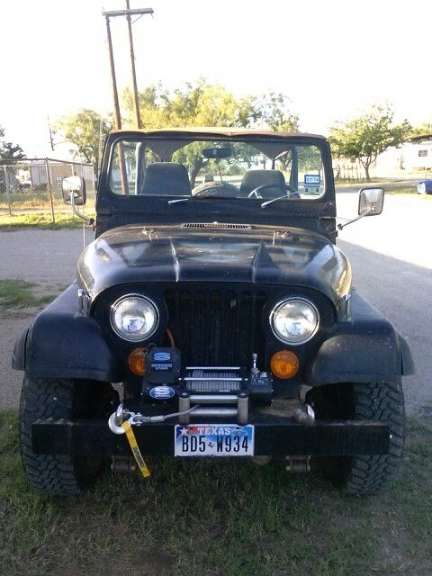 1979 Jeep Cj7 Amc 304 V8 And Automatic Transmission Quadra Trac