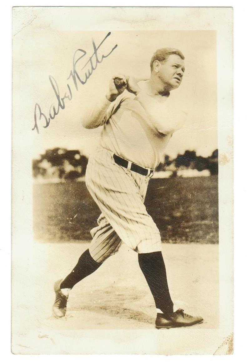 AAA Sports Memorabilia LLC Babe Ruth New York Yankees