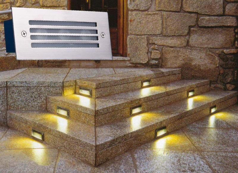 LED Deck Step Light 3W Underground Lamp Recessed Stair Paitio Inground Spot  Lights Floor Garden Landscape