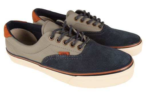 f07047ee97 The Era 59 is seen here mixing premium grey leather and navy suede on the  upper