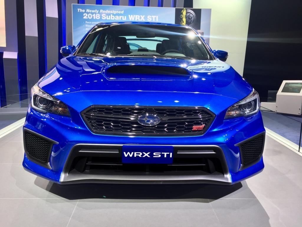 Subaru WRX STI 2018 The Slight Updates Subaru wrx
