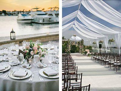Balboa Bay Resort Newport Beach Weddings Orange County Waterfront Wedding Reception Venue 92663