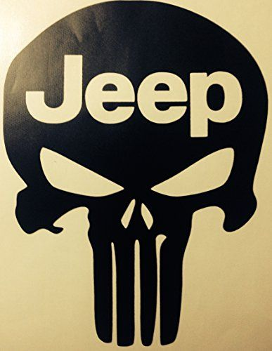 Jeep Punisher Vinyl Decal Sticker Buy  Get Rd Free - Boat decals amazon   easy removal