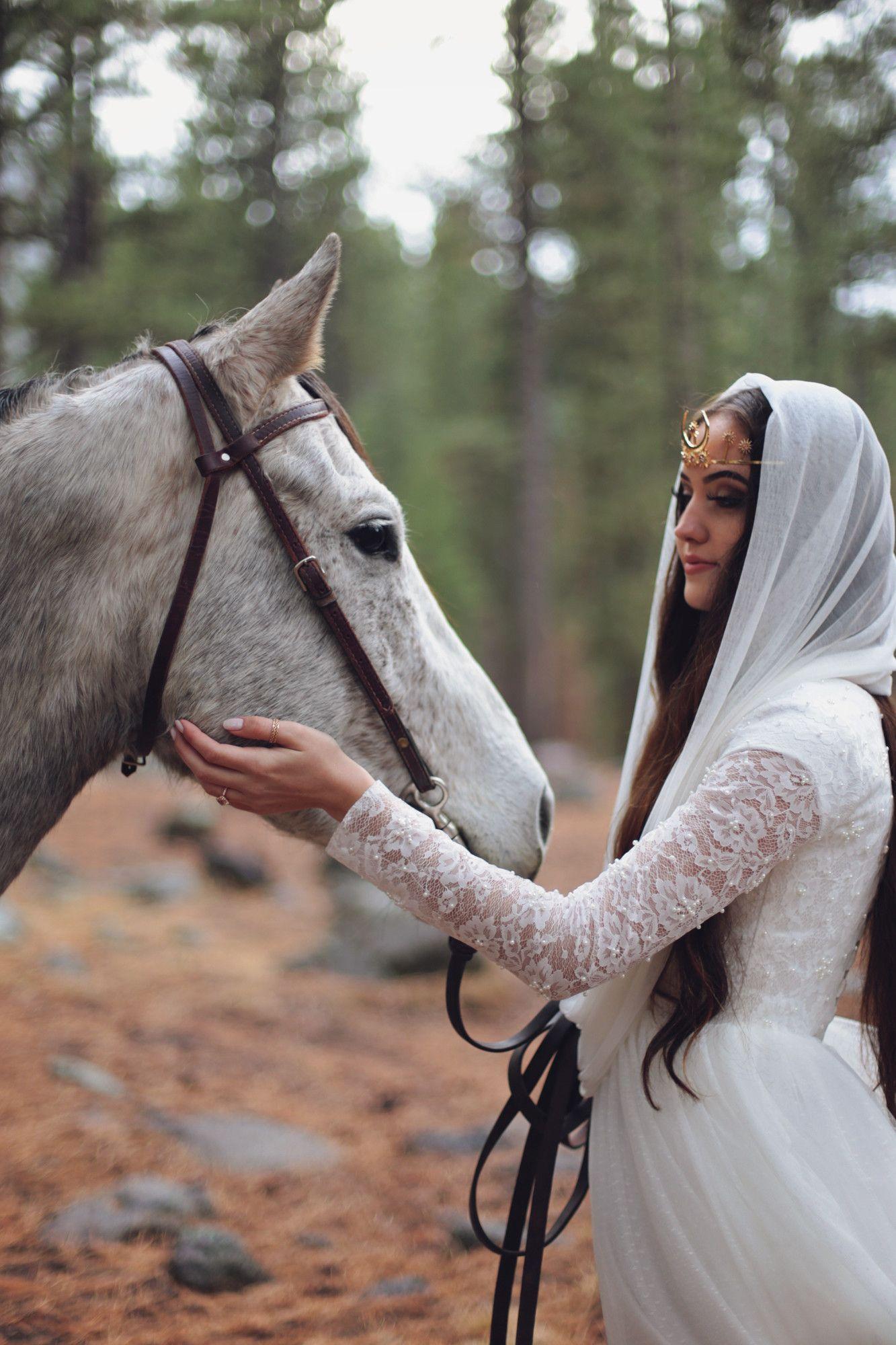 Silk Tulle Hooded Veil Style 328 Boho Bride Under The Veil Veil