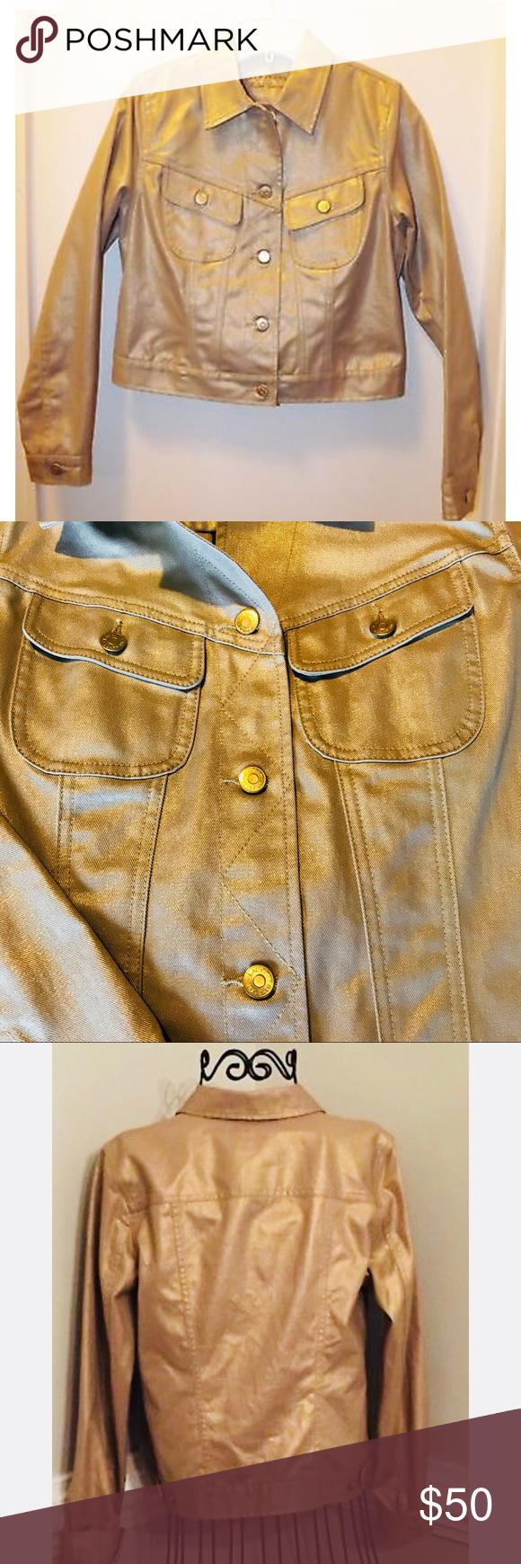 Final Ralph Lauren Gold Jean Jacket Gold Jeans Fashion Clothes Design [ 1740 x 580 Pixel ]