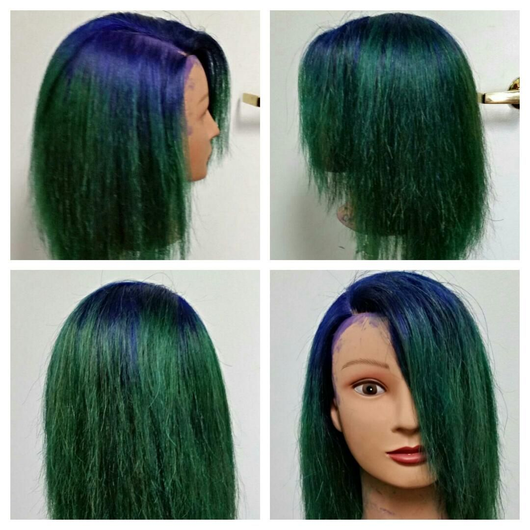 Blue To Green Color Melt By Carmen Wilson With Images