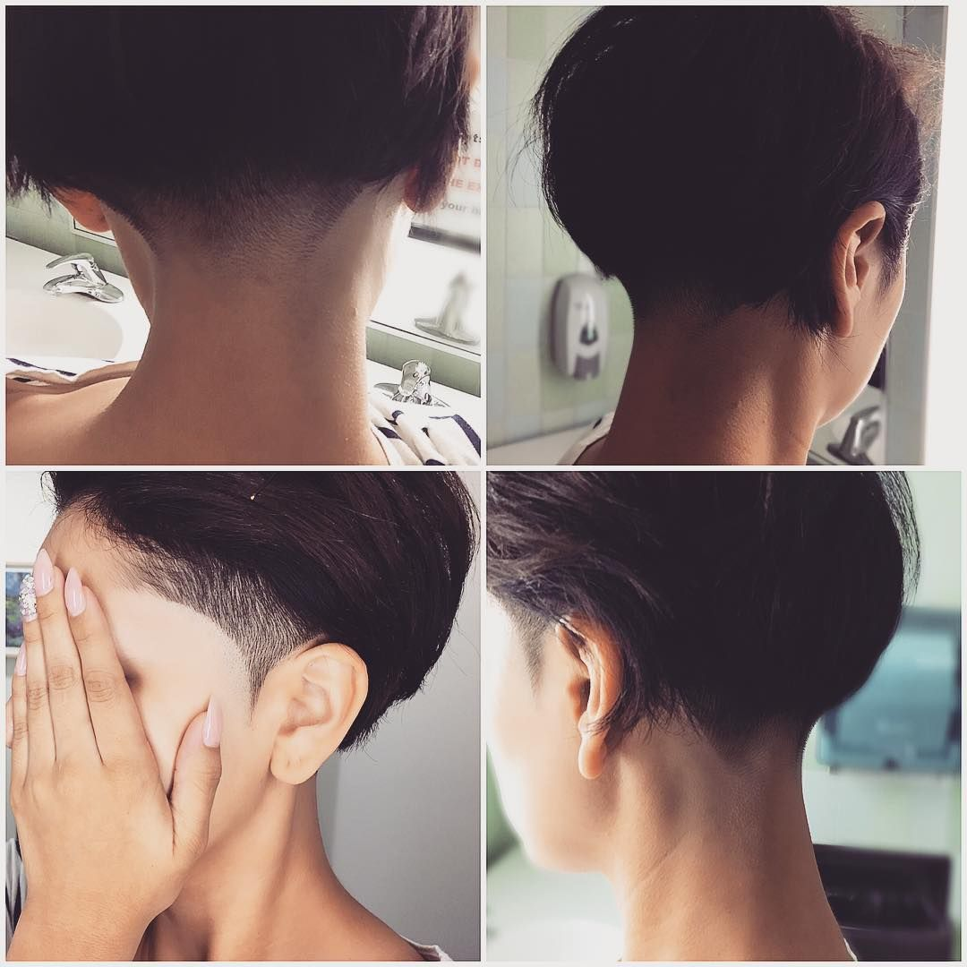 short haircuts for women pictures funky undercut time to grow my layers again hair 5849 | 6a5e2109fcd23ba3a311d8fbd5849f48