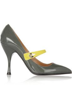 Marc Jacobs Patent-leather Mary Jane pumps | THE OUTNET