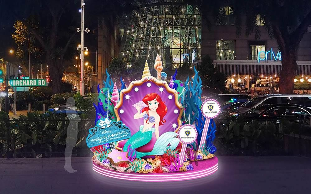 Disney Christmas Light Up In Orchard Road Largest In Southeast Asia From Nov 10 2018 To Jan 1 2019 Mothership Disney Christmas Christmas Lights Light Up