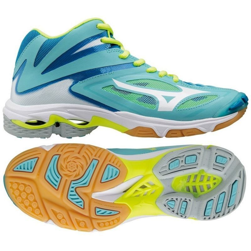 Buty Siatkarskie Mizuno Wave Lightening Z3 Mid W V1gc170504 Niebieskie Niebieskie Mizuno Hoka Running Shoes Running Shoes