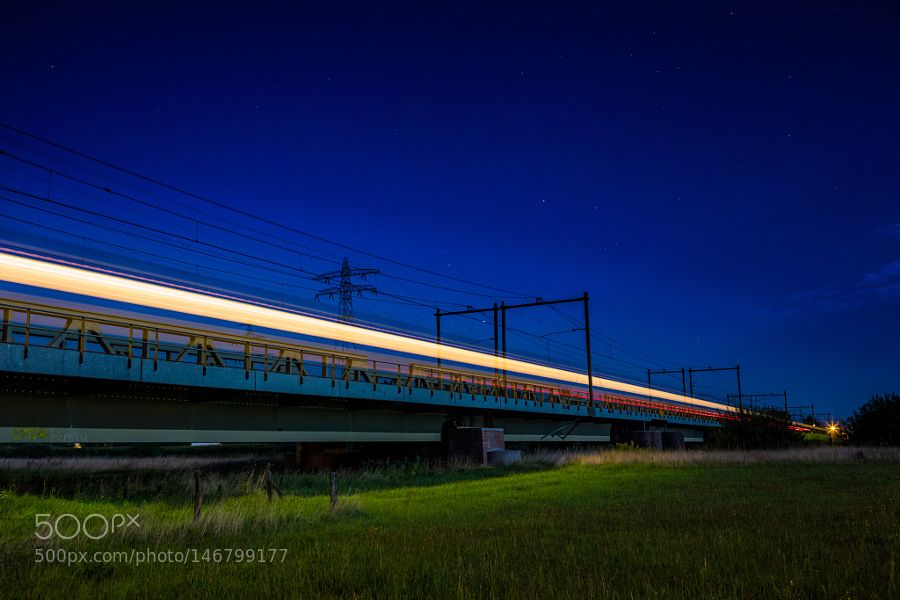 The last Intercity to the North.jpg by leandervasse