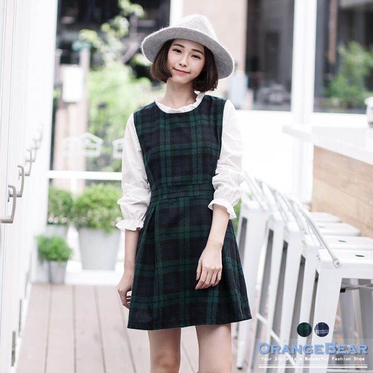 Simple Dress Korean Style Asian Style Street Style Taiwan