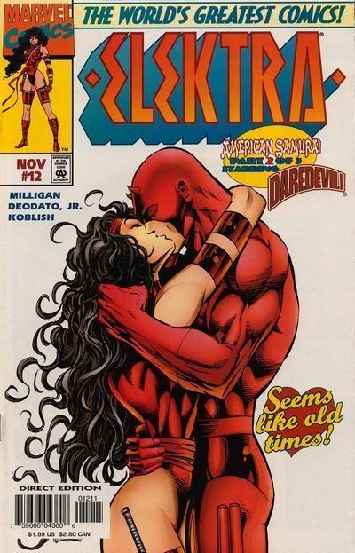 Another Favorite Cover Elektra Daredevil Kissing Comics Marvel Elektra Marvel Comic Books