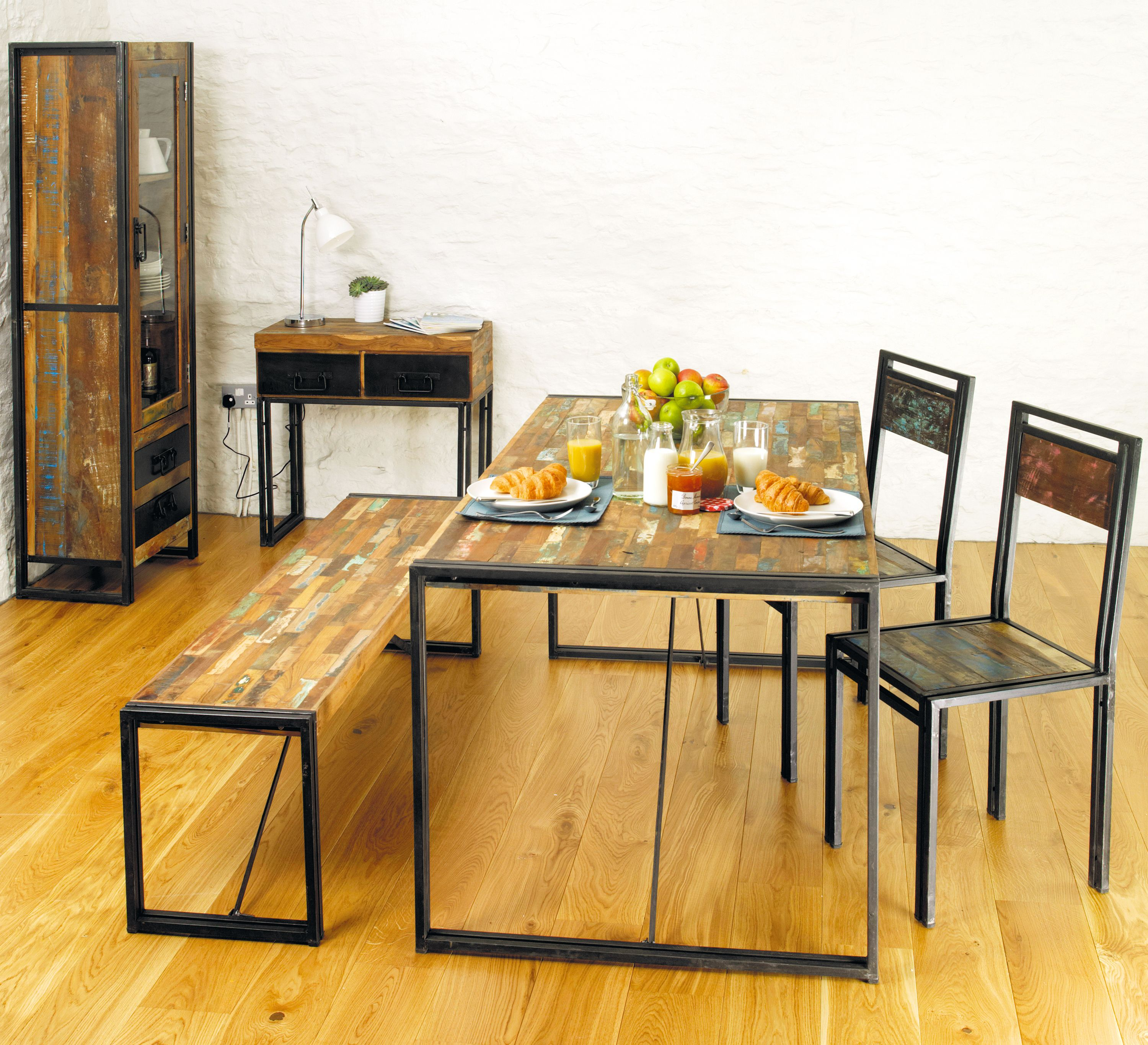 chic industrial furniture. Stunning #dining Set From Our #Urban #Chic Range Chic Industrial Furniture I