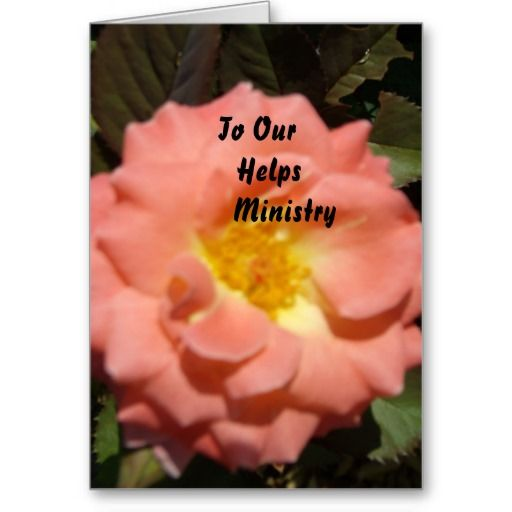 To Our Helps Ministry Greeting Cards