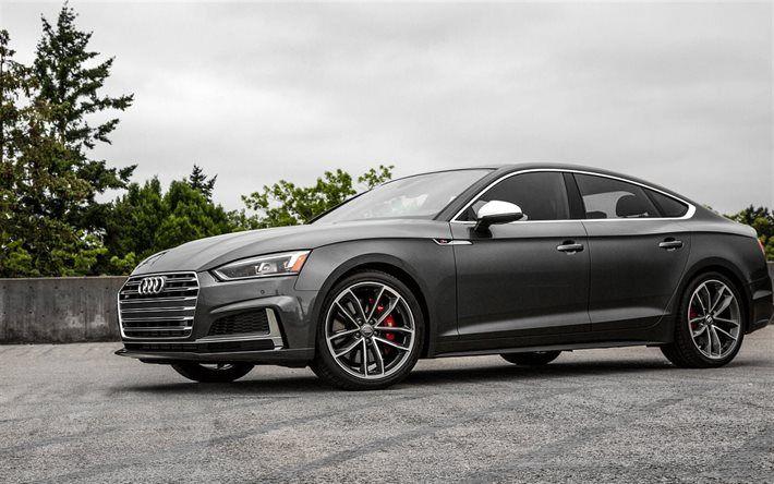Herunterladen Hintergrundbild Audi S Sportback Autos Usspec - Audi a5 sportback us