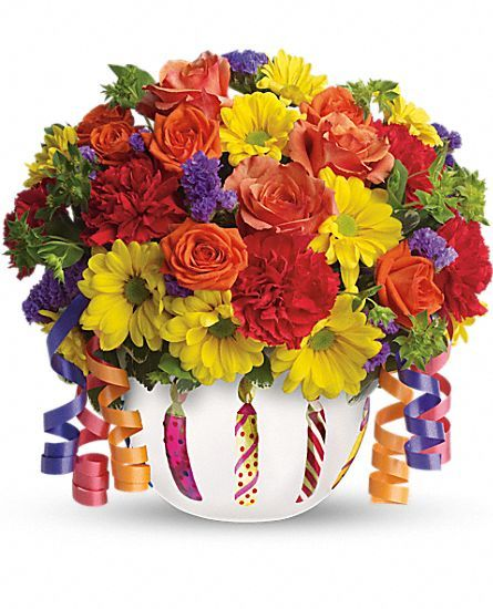 Telefloras Brilliant Birthday Blooms Flowers Little Loves