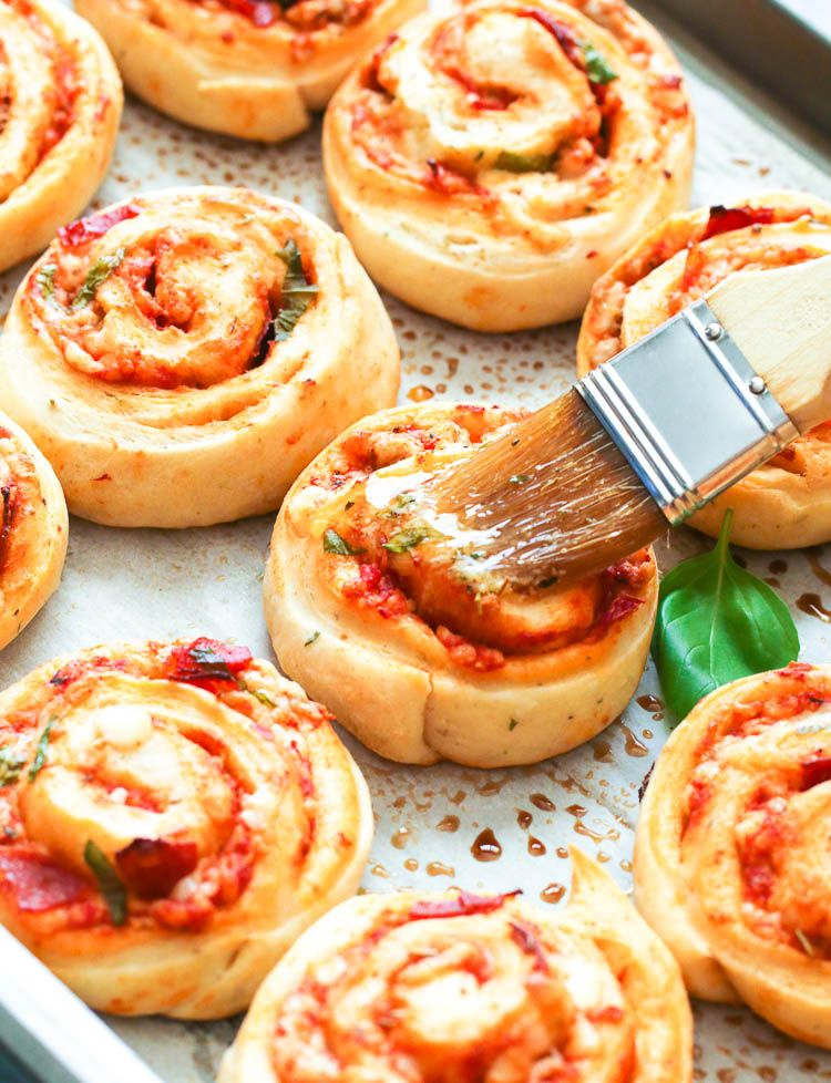 Pizza Rolls  Immaculate Bites