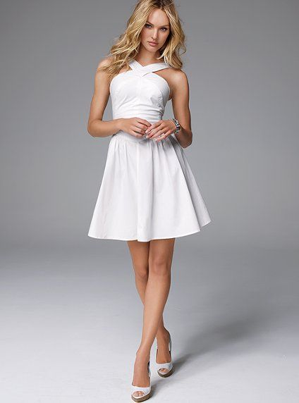 e5006c66ebf8 sassy alabaster dress for bachelorette fun but with cute little sandals