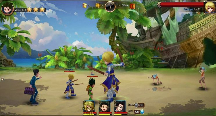 Hunter x online is a freetoplay browser based role