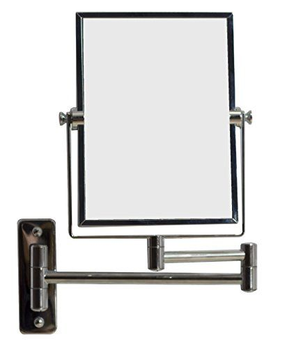 http://www.yourhomeandkitchen.info/american-imaginations-ai-646-5-in-w-x-13-in-h-rectangle-chrome-wall-mount-magnifying-makeup-mirror-with-dual-1x5x-zoom-review/ - It features a rectangle shape. This magnifying mirror is designed to be installed as a wall mount magnifying mirror. It...