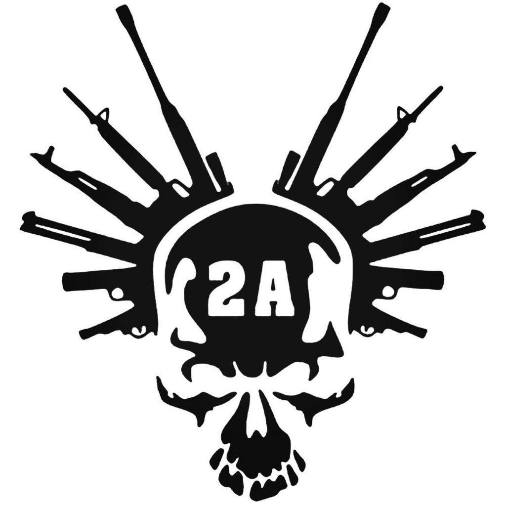 Girls With Guns,Punisher Skull,Molon Labe,Shoot Like a Girl,Military,Vinyl Decal