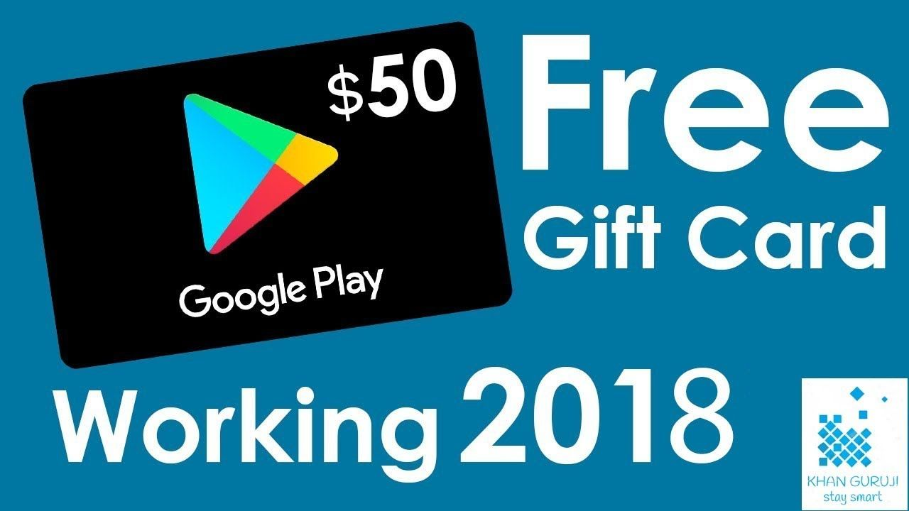 Free google play gift card redeem code for play store