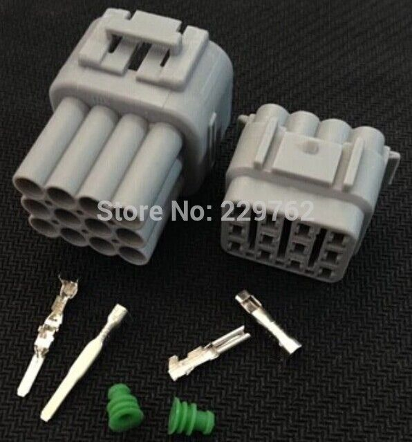 30sets 12 pin way 12p 2 2mm auto connector,car waterproof electrical  30sets 12 pin way 12p 2 2mm auto connector,car waterproof electrical plug,automotive sensor main connector for car truck ect