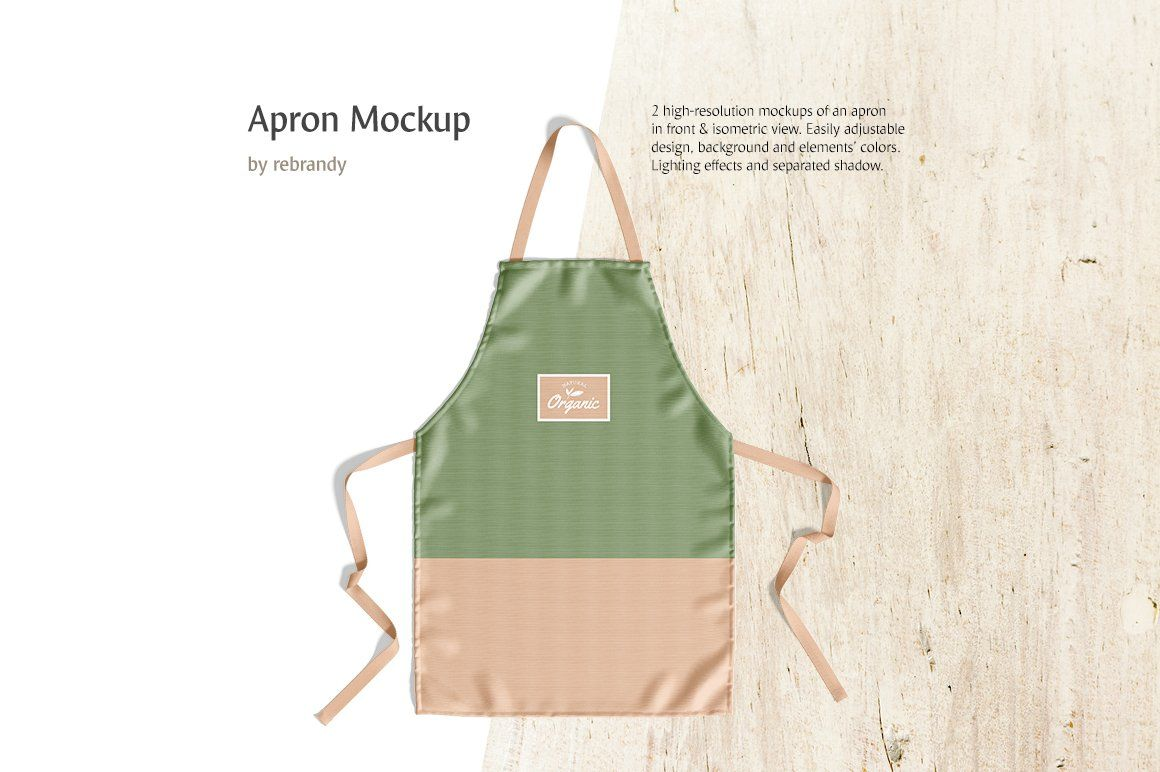 This fully layered psd file allows you to show off your design. Apron Mockup Psd Free Download Free Psd Mockup All Template Design Assets