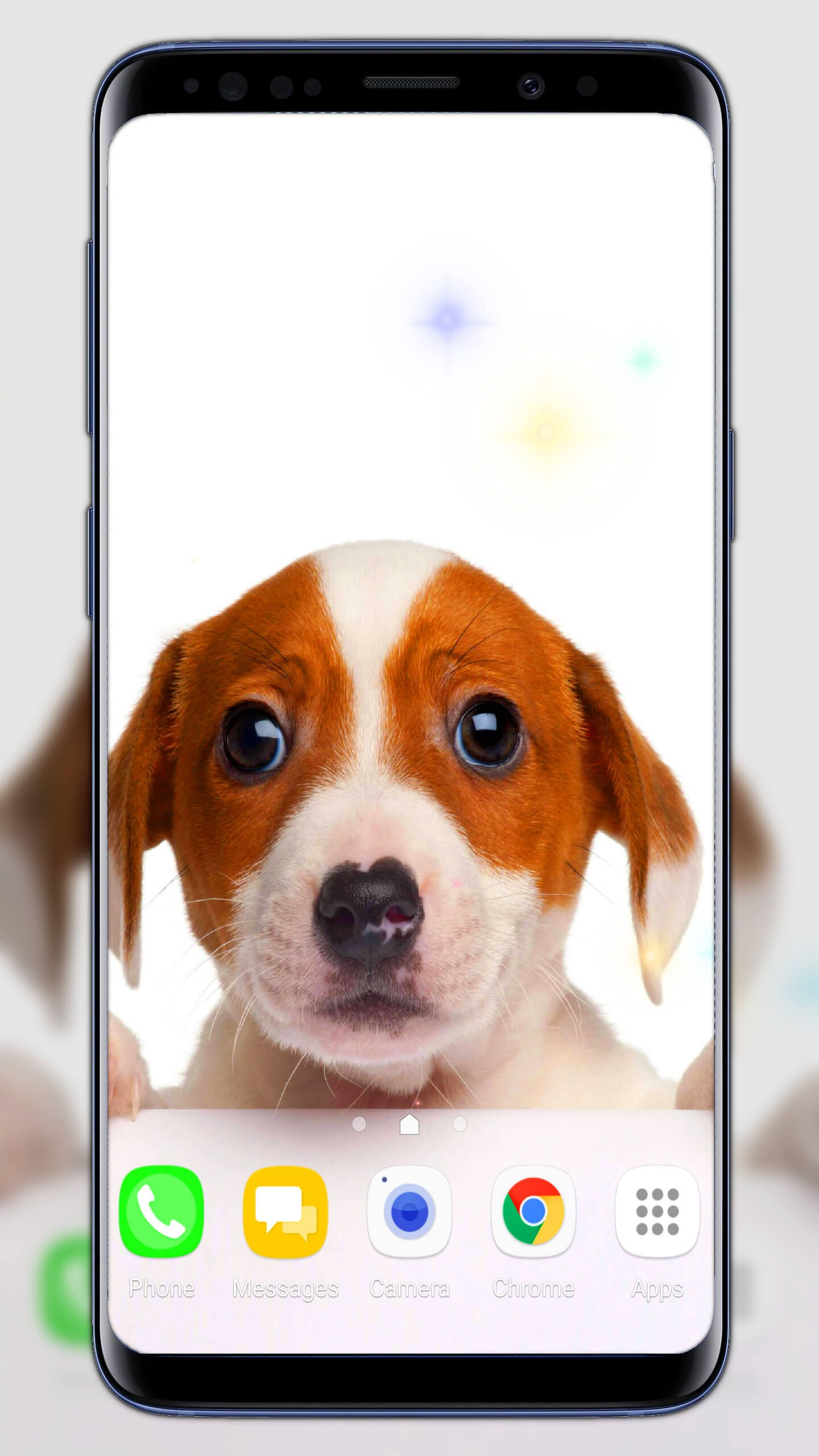 Puppies live wallpaper puppies cute wallpaper android themes
