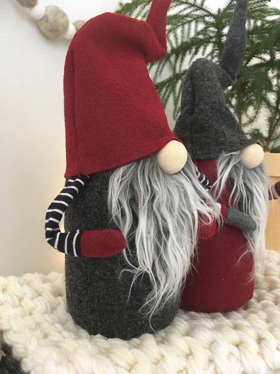 Claus The Scandinavian Christmas Gnome Pattern By Nordikatja Do It Yourself Diy Pdf Download Pattern For Tomte Or Nisse Gnome Patterns Scandinavian Christmas Christmas Gnome