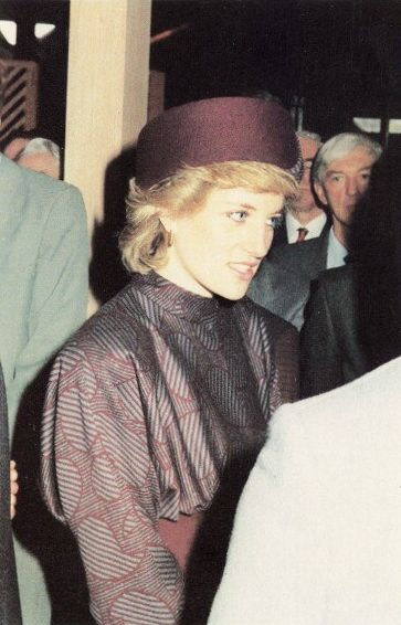 1986 02 20 Diana At The British Medical Associations Nuffield Library In Tavistock Square London