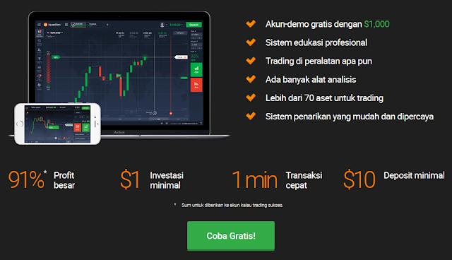 iq option indonesia