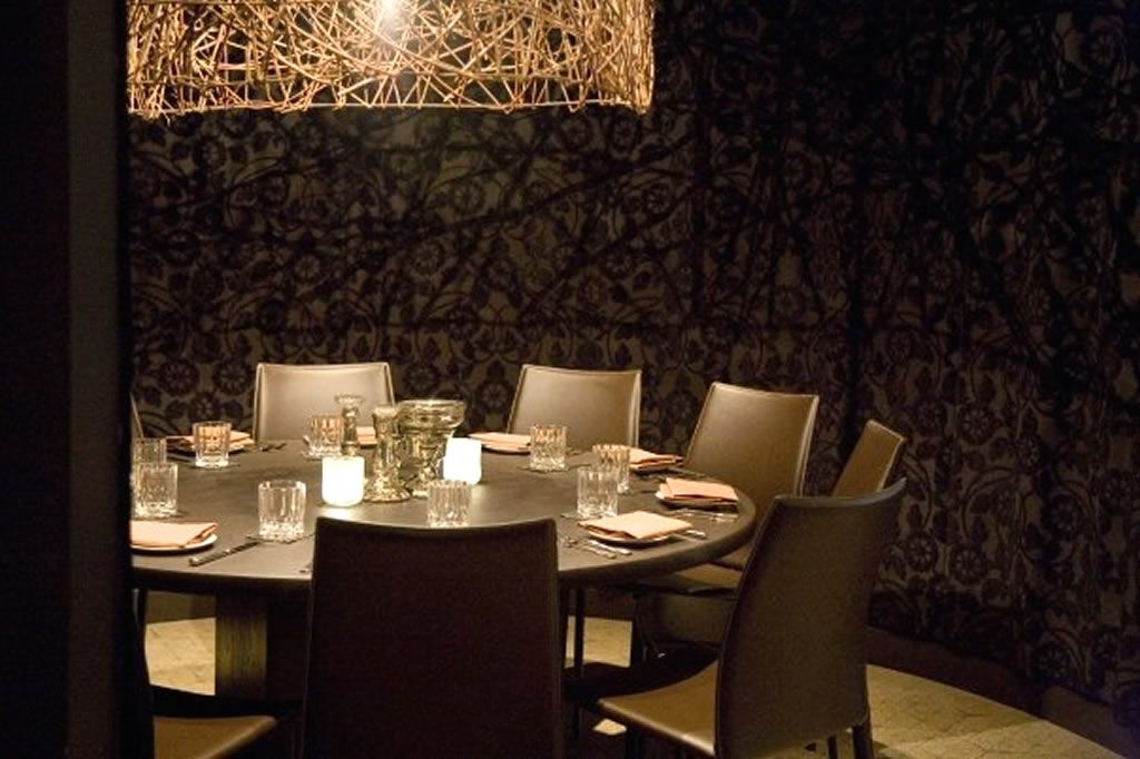 Private Dining Room Furniture Design Of Sepia Restaurant, Chicago