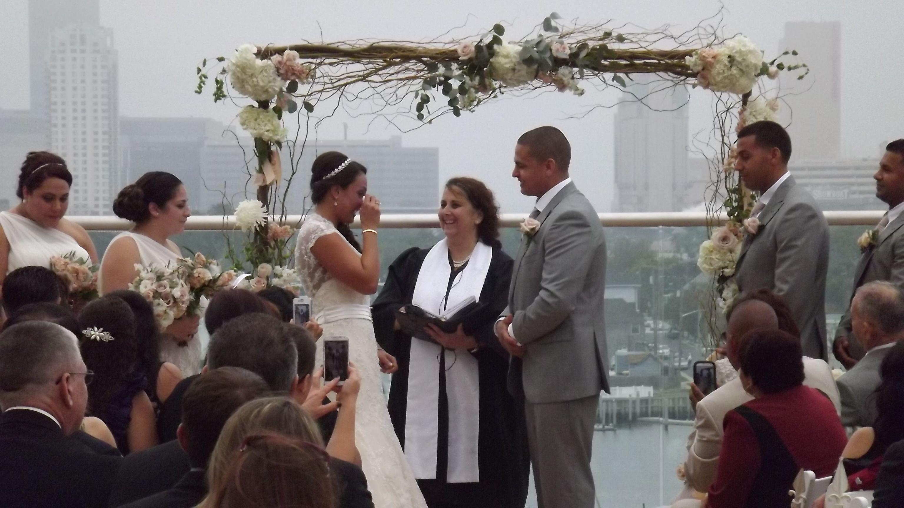 wedding officiant newark nj