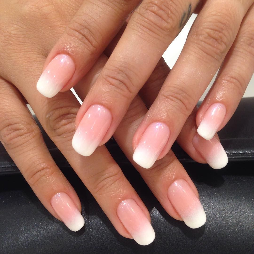 Color: Ombré French Mani w/ Beau & Creampuff by CND | Shellac ...