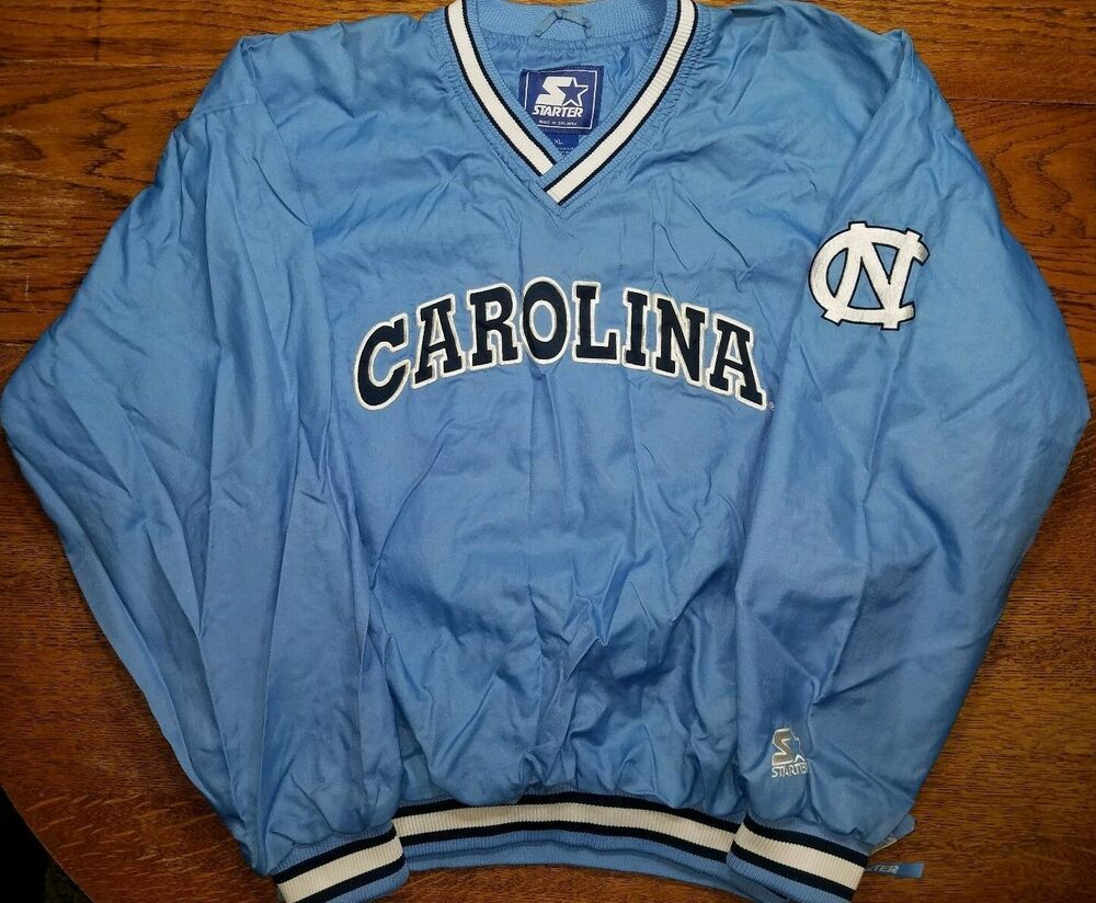 ce8f13a0368 Official North Carolina Tar Heels pullover Starter Adult XL NCAA UNC  Vintage 90s  Starter  NorthCarolinaTarHeels