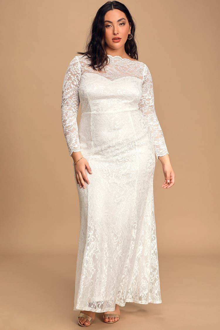 Farida White Lace Long Sleeve Maxi Dress In 2021 Long Sleeve Maxi Dress Long Sleeve Lace Maxi Dress With Sleeves [ 1125 x 750 Pixel ]