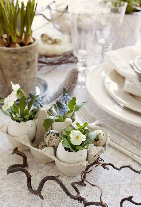 Tischdeko Zum Ostern 70 Frische Ideen Archzine Net Ostern