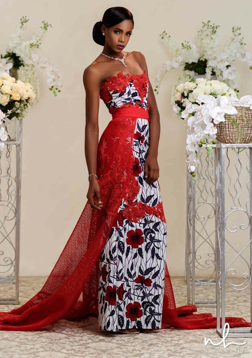 Nadrey laurent introduces itus first ever bridal collection themed