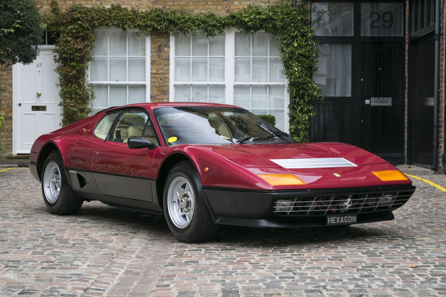 Searching For A Ferrari Bb 512 Carburettor 1978 In London We